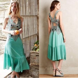 Anthro   Maeve Canyon Creek Maxi Dress 6